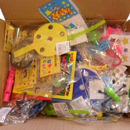 Box�of 100 Assorted Party Bag Fillers