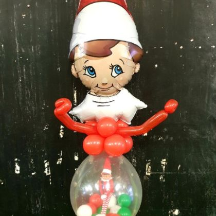 Elf On A Shelf Balloon - Tall Elf
