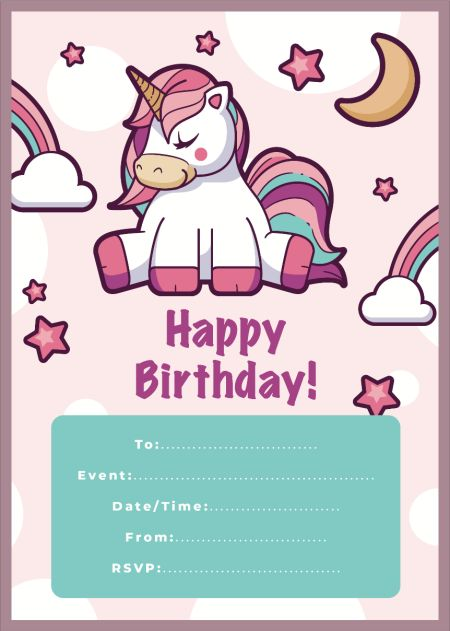 Unicorn Invite