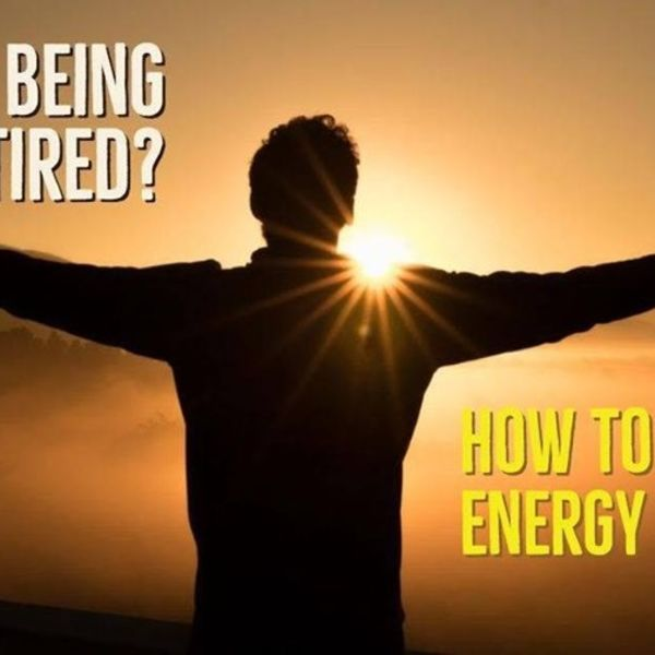 How To Improve Your Energy Levels With Amie Marshall - 11th September