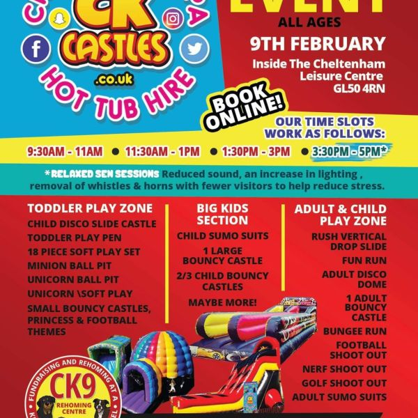 Indoor Ck9 Fundraiser Event - 9th February 2020