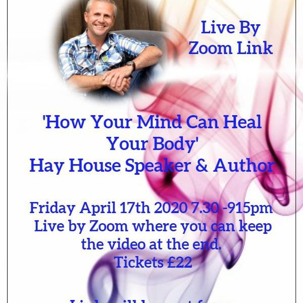 Dr David Hamilton Phd - How Your Mind Can Heal Your Body - 17th Apr