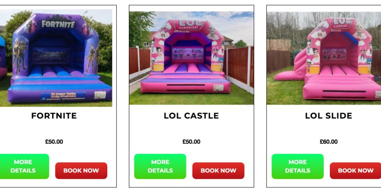 Never Hired A Bouncy Castle Before