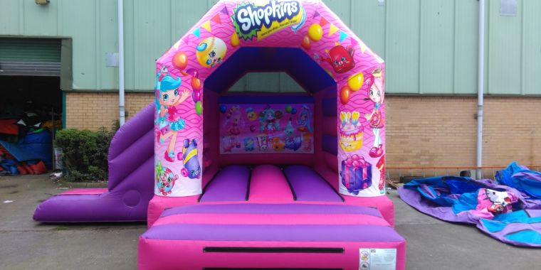 New Shopkins Bouncy Castle Hire Liverpool