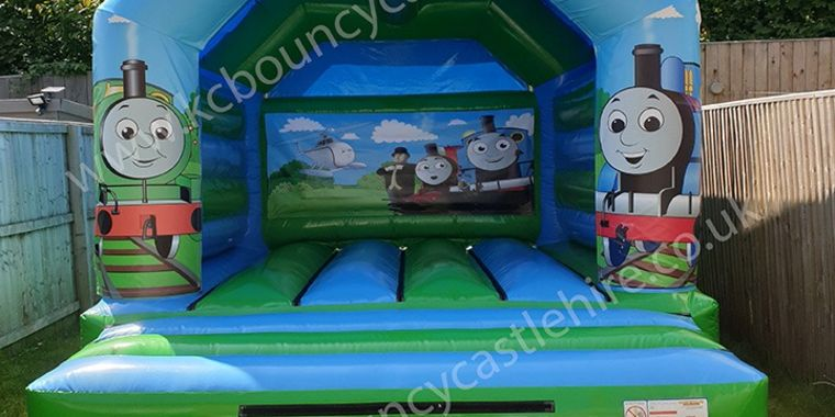 New Thomas The Tank Bouncy Castle Liverpool