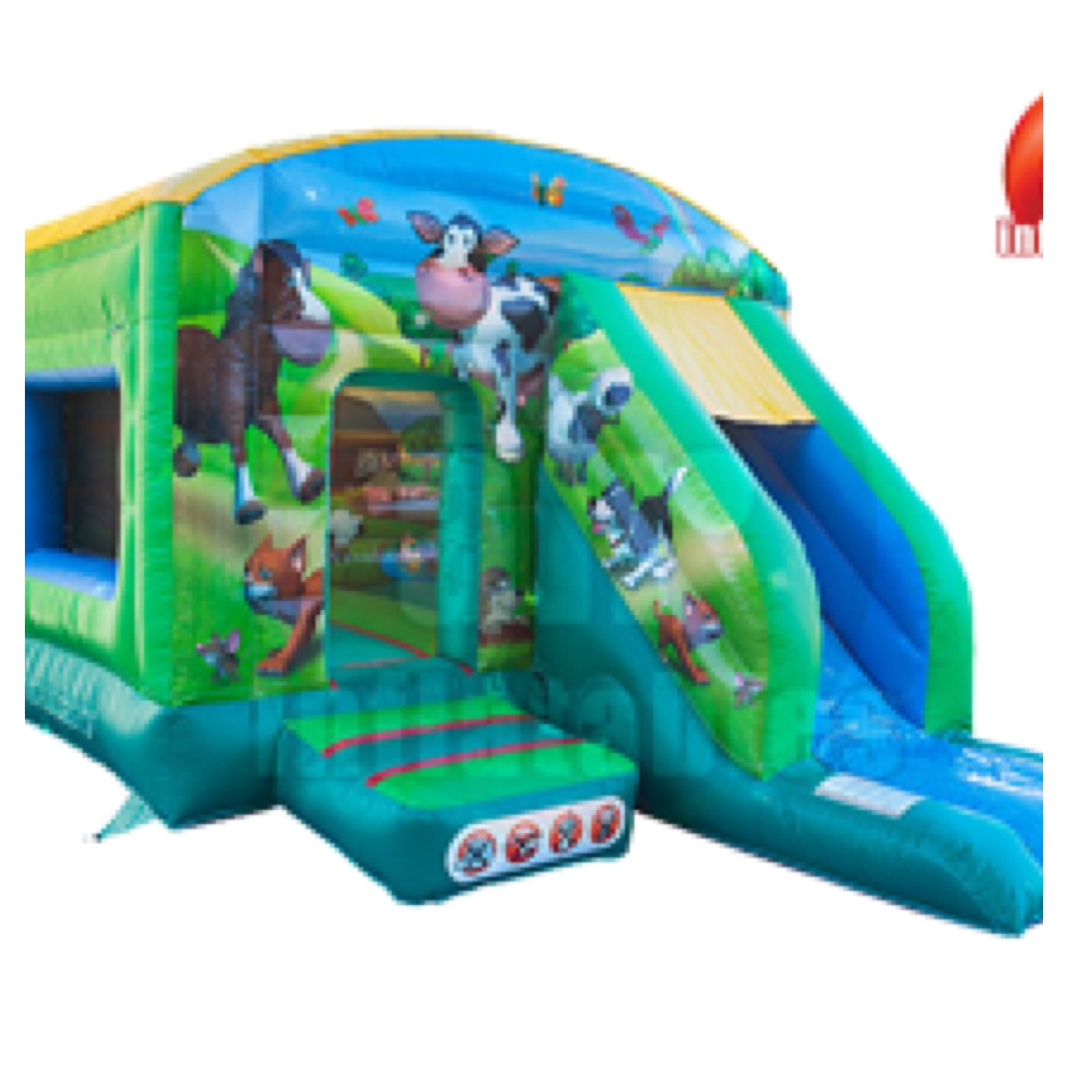 Farm Bounce & Slide 12 X 18ft