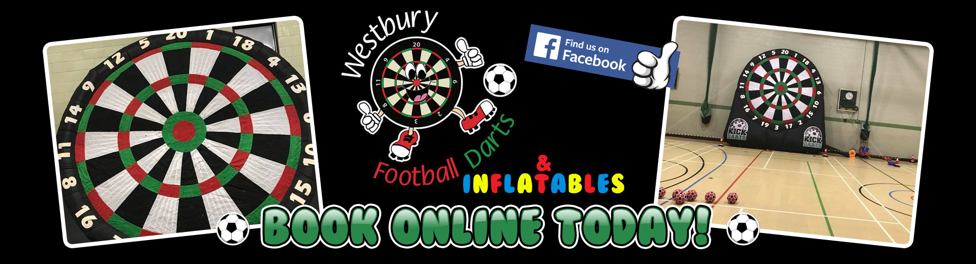 Westbury Football Darts And Inflatables