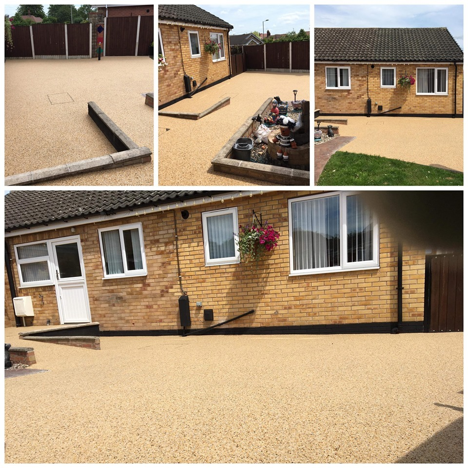Resin Bound Patio And Path Way In Skellow, Doncaster