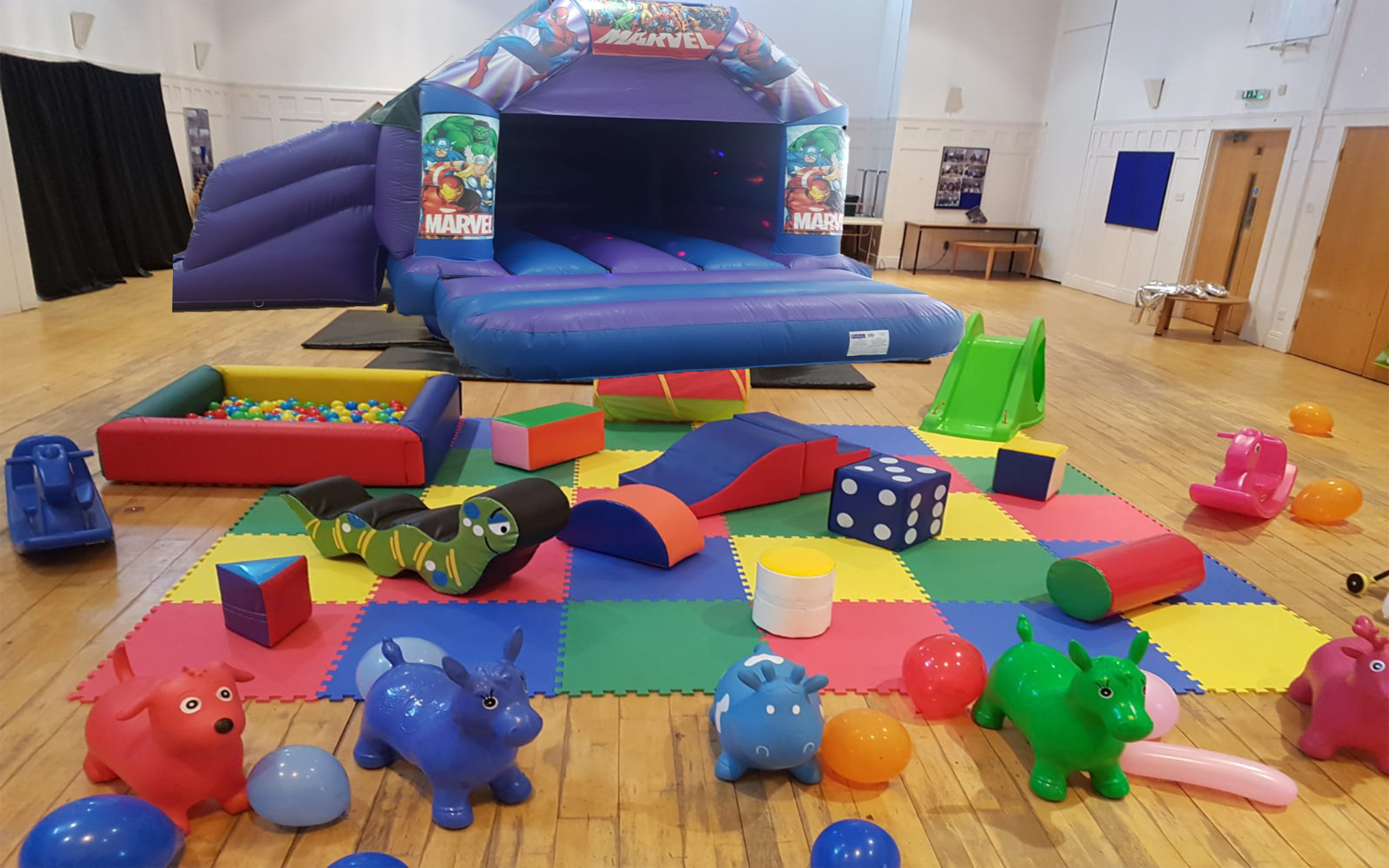 Disco Slide Castle & Softplay