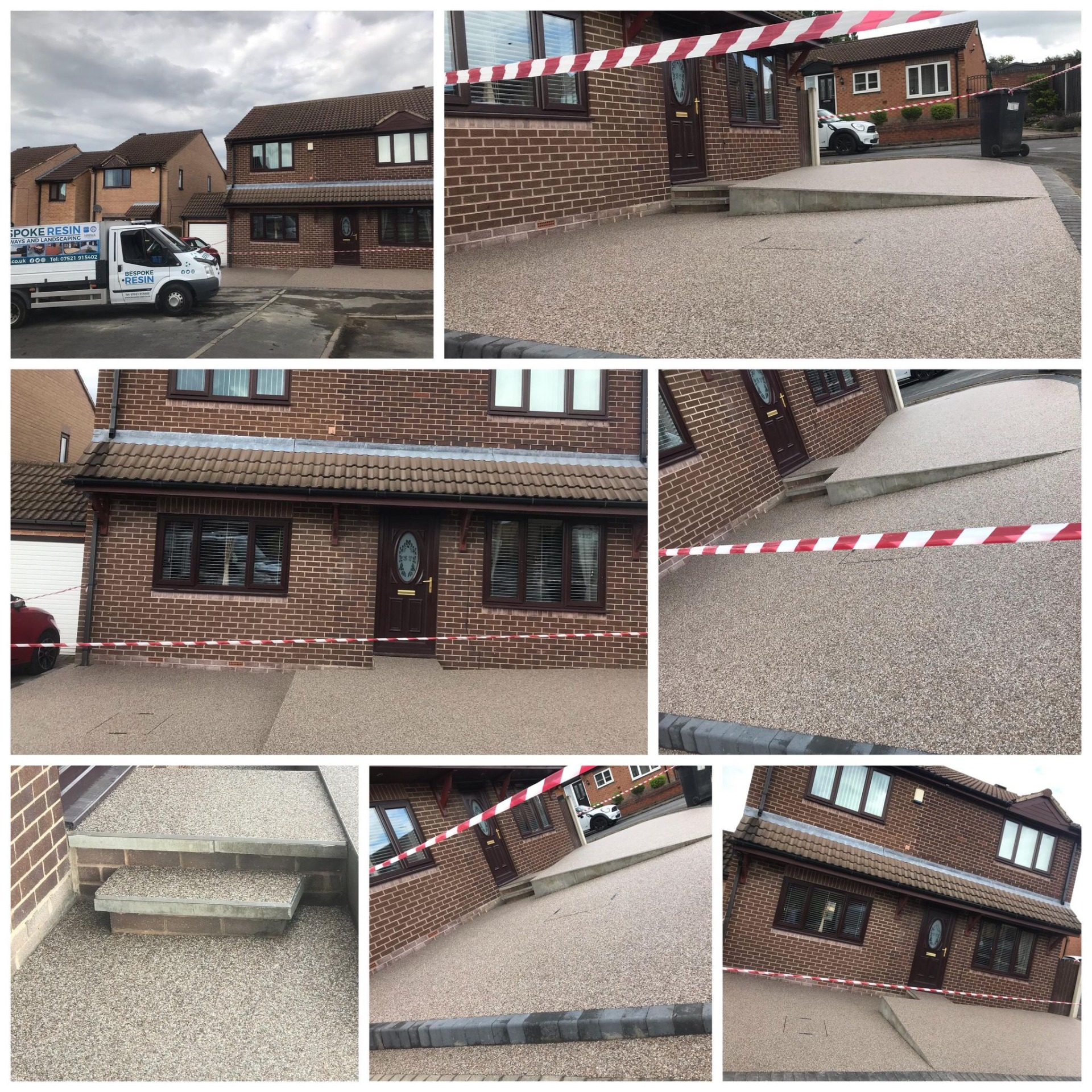 Resin Bound Driveway Completed In Mexborough, Rotherham