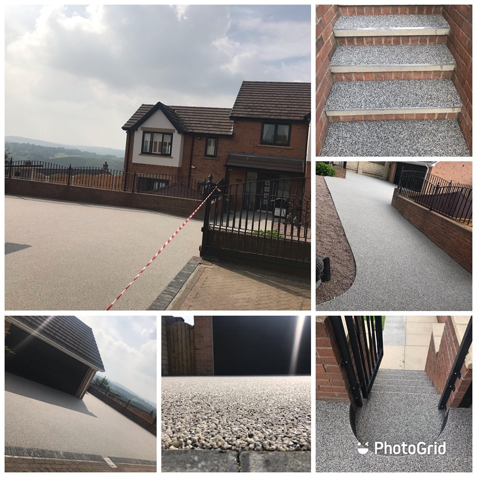 Resin Bound Driveway Install In Barnsley, South Yorkshire