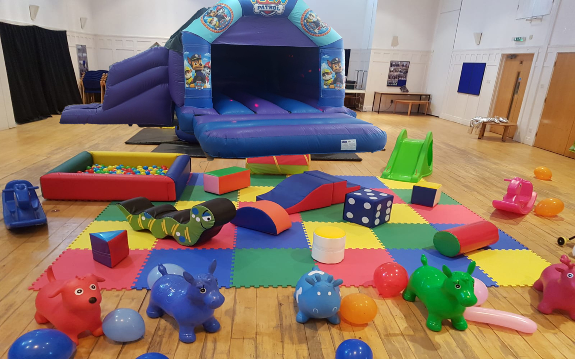 Themed Slide & Softplay