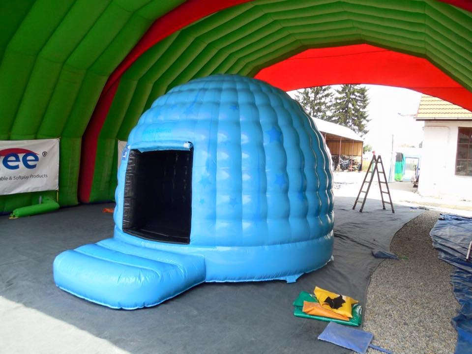Mini Blue Disco Dome