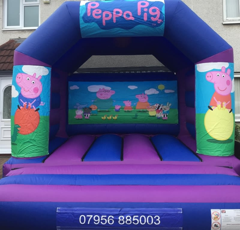 Peppa Pig Bouncy Castle - 12 X 14