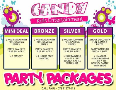 Party Packages For Children Party