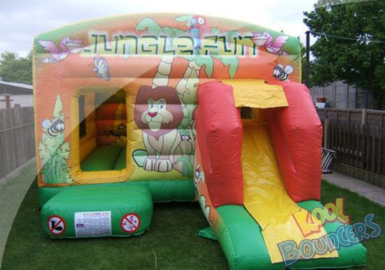 Jungle Fun Combo Slide 12 X 18