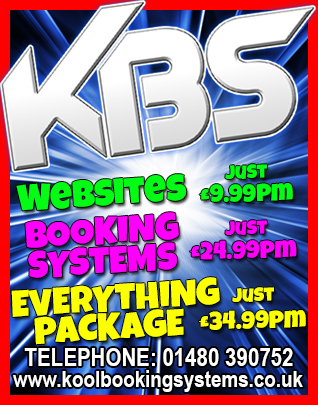 Kool Booking Systems Websites and Booking Systems from £9.99 per month