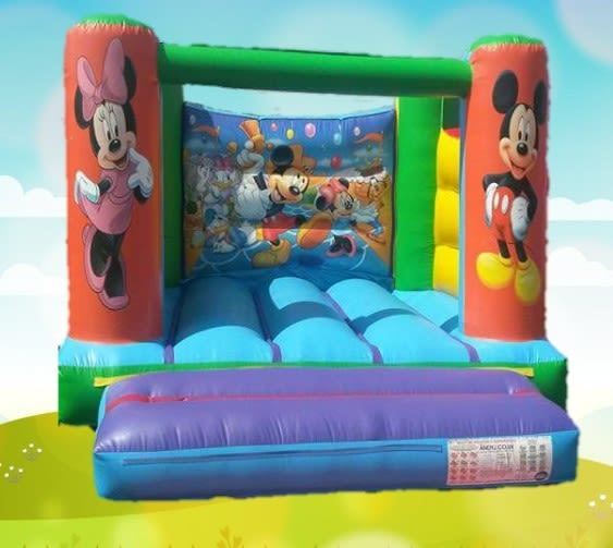 12ft X 12ft Mickey Mouse Castle