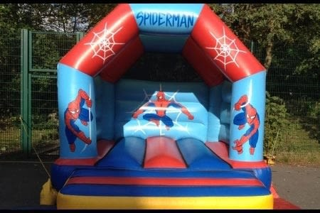 Spiderman Bouncy Castle - 12 X 14