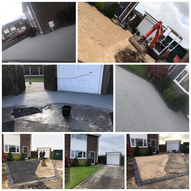 Bespoke Resin Bound Driveway In Maltby, Rotherham