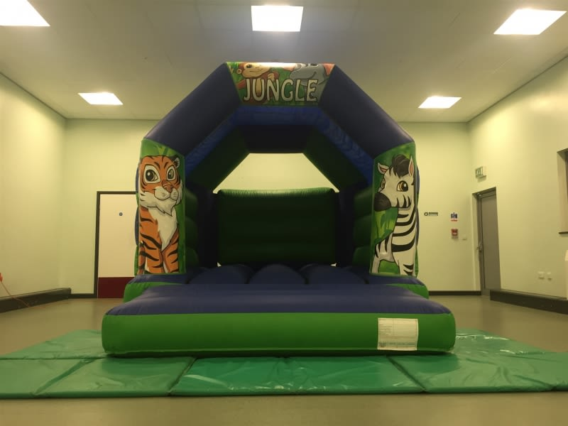 12ft X 15ft Jungle Castle