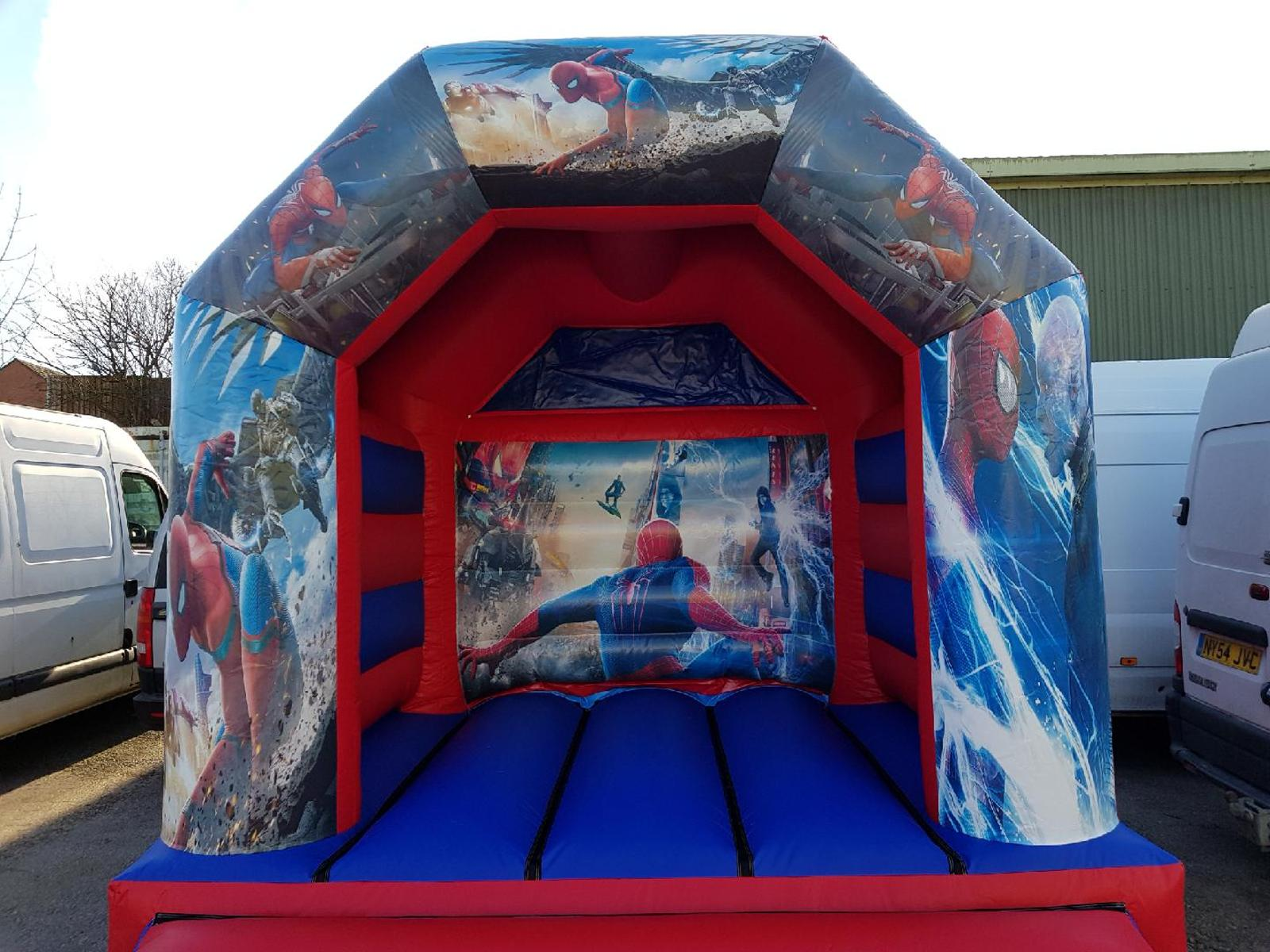 11x15ft Spiderman Bouncy Castle