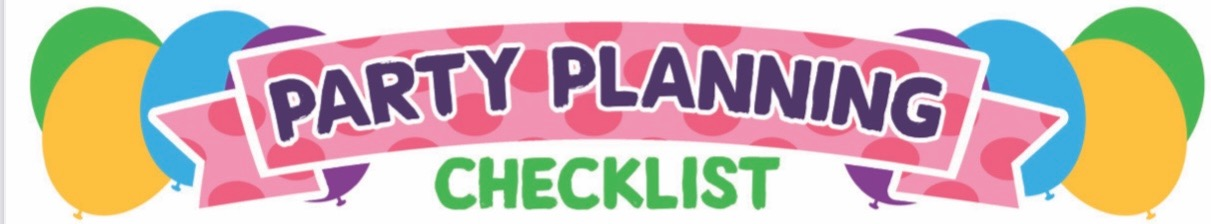 Party Planning Checklist - Part Five