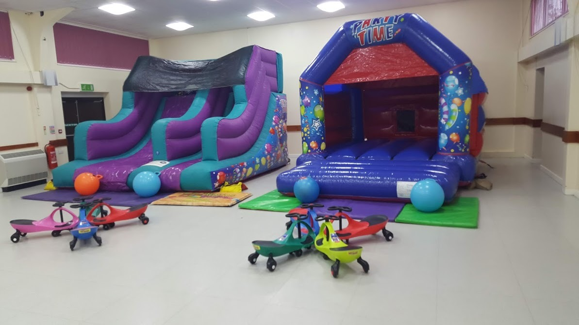 Bouncy Castles In Peterborough - Farcet Village Hall And Northborough Village Hall