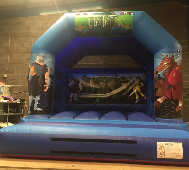 Ninja Turtles Bouncy Castle - 12 X 14 Ft