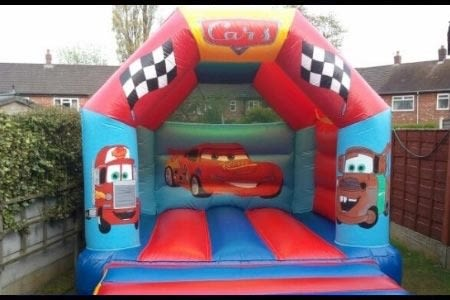 Cars Bouncy Castle - 12 X 14