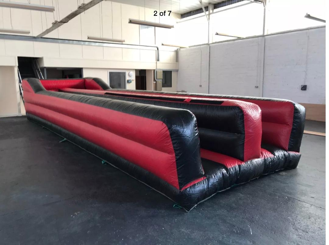 Bungee Run Hire Kent Whitstable Herne Bay Canterbury
