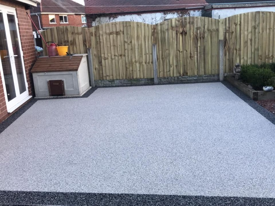 Resin Bound Patio  Doncaster