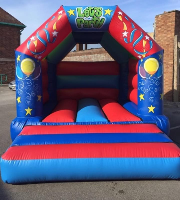 Lets Party Bouncy Castle - 12 X 14
