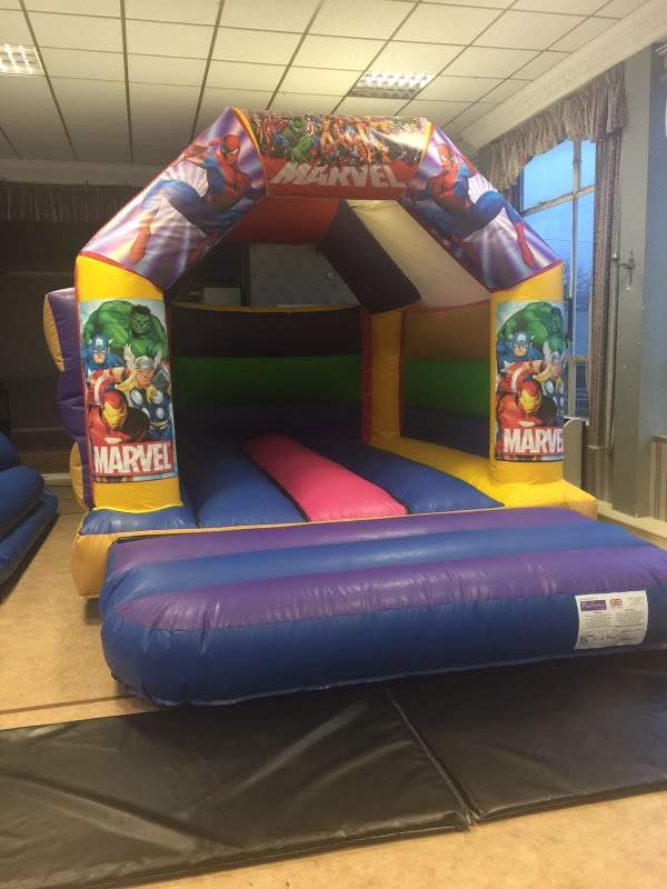 Marvel Bouncy Castle