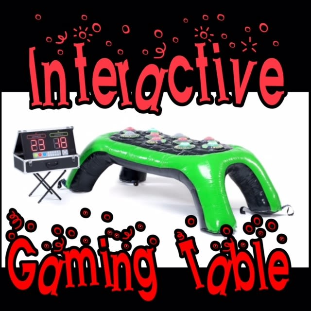 Interactive Games Table