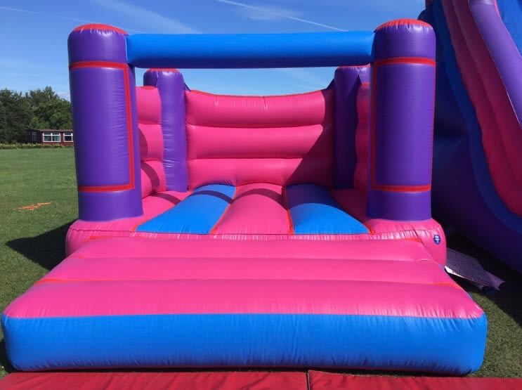 Girls Pink Bouncy Castle