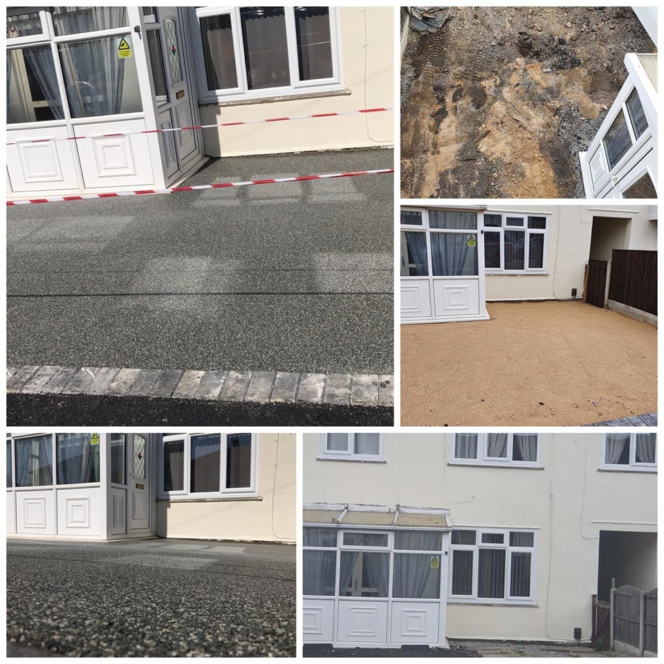 Full Resin Bound Driveway Installation In Conisbrough, Doncaster