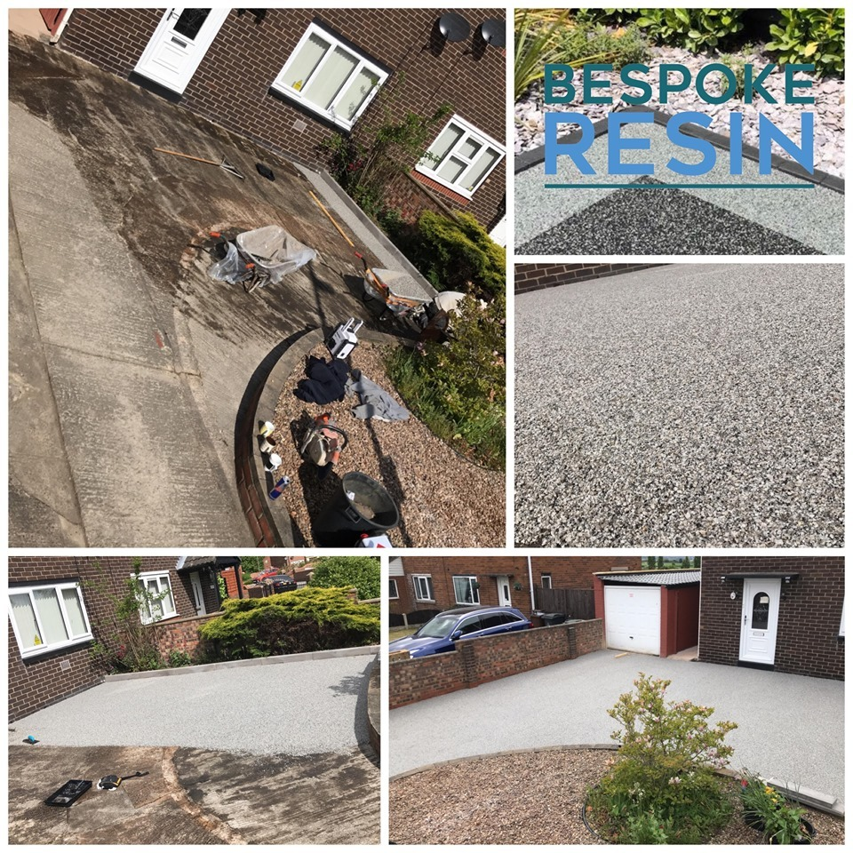 New Resin Bound Driveway Installation In Barnsley.