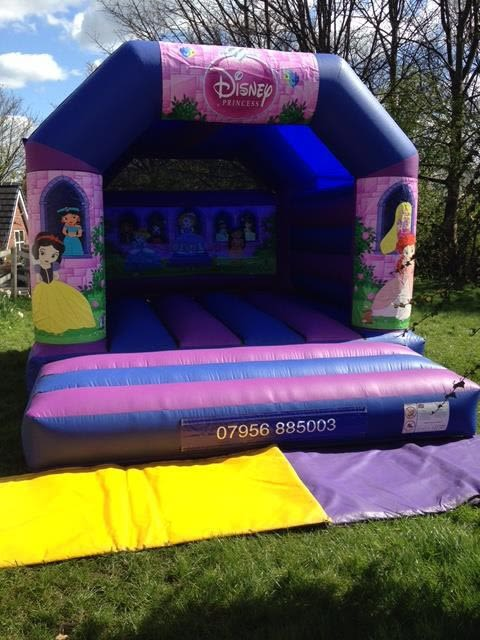 Princess Bouncy Castle 12 X 14