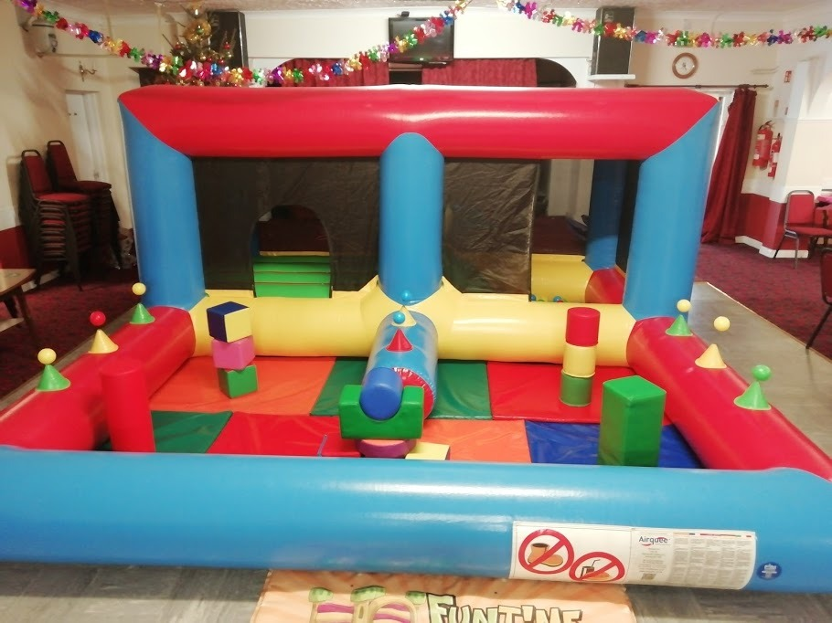 Bouncy Castle Hire In Spalding At Spalding Services And Social Club