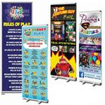 2 X Pop Up Banners - £60+vat Plus Artwork / Design