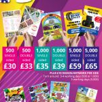A5 Leaflets 130/135gsm Thickness