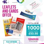 1000 X Leaflets And Cards Offer