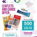500 X Leaflets And Cards Offer