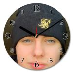 29cm Diameter Personalised Round Wall Clocks