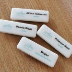 Rectangle Name Badges - 74 X 25mm