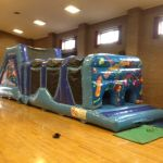 45ft Blue Obstacle Course For Sale