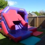 15ft X 12ft Spiderman Castle With Slide