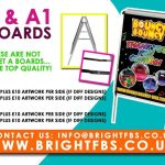 A1 A Boards With 2 X A1 Posters