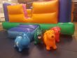 Baby Bouncer  12 X 8 Feet And 14 Piece Soft Play And 4 Animals